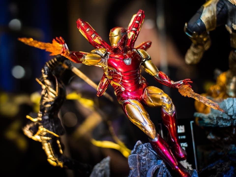 """Exposição Avengers em São Paulo: """"Avengers: EndGame Expo"""" reúne estátuas em miniatura e em tamanho real dos personagens de Vingadores Ultimato 22"""