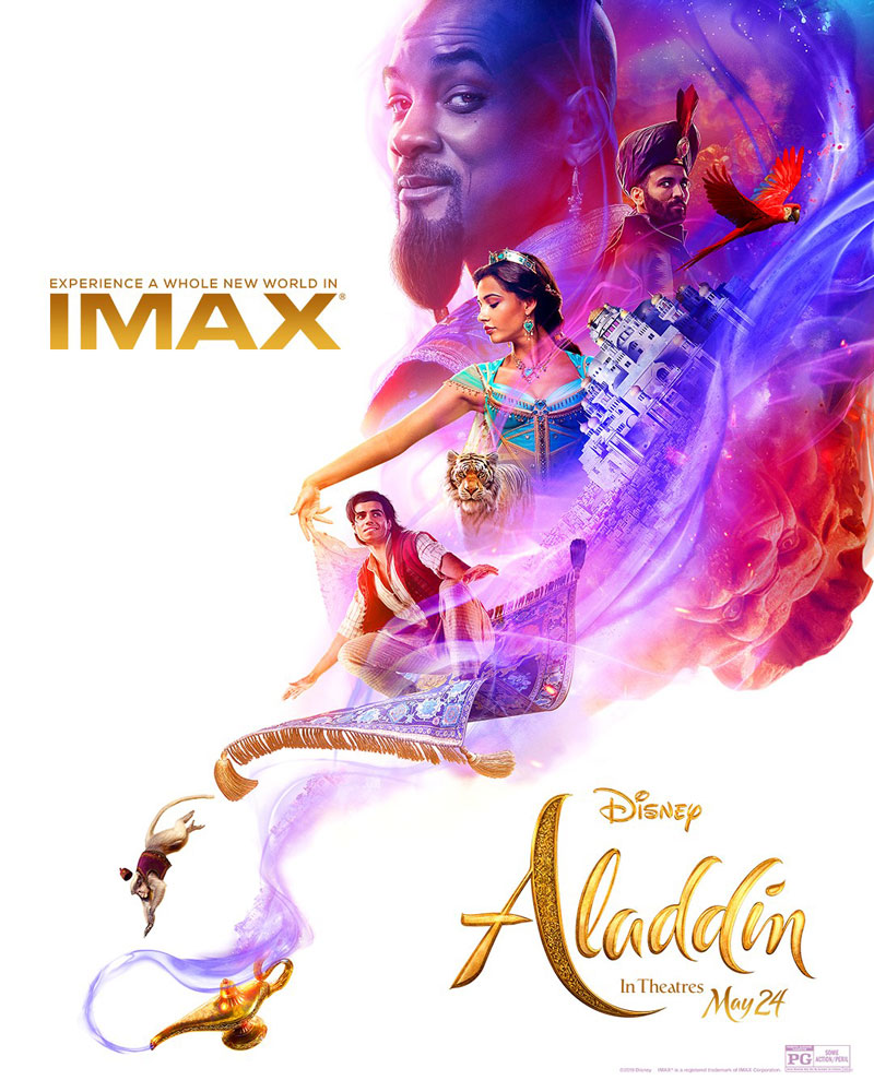 Aladdin | Confira o novo cartaz IMAX do filme 17