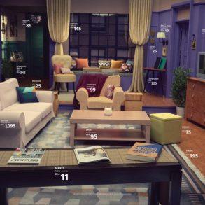 Ikea recria salas famosas de séries usando produtos apenas da própria marca 19