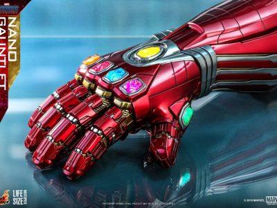 Vingadores: Ultimato | Réplica em tamanho real mostra detalhes da manopla do infinito nanotecnologica! 13