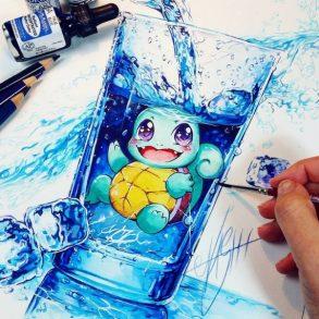 Artista desenha ilustrações fofas e geeks em versão Chibi 20