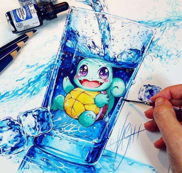 Artista desenha ilustrações fofas e geeks em versão Chibi 31