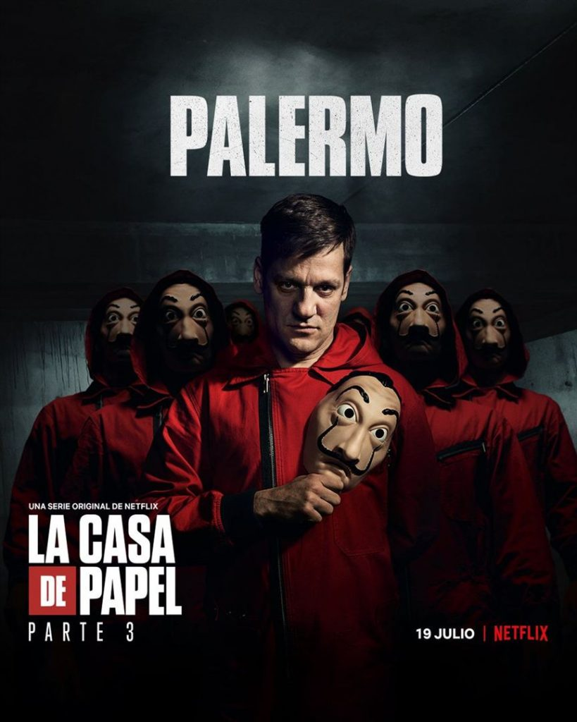 La Casa de Papel: Netflix revela cartazes individuais dos personagens 29