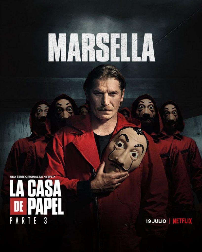 La Casa de Papel: Netflix revela cartazes individuais dos personagens 28