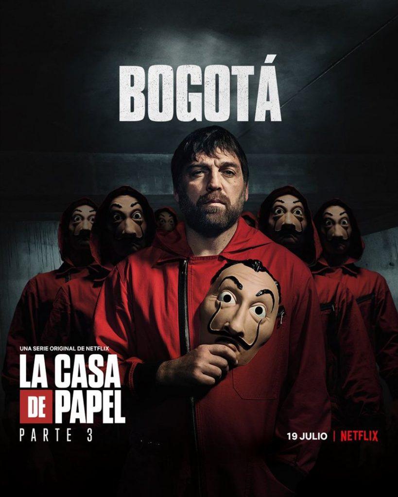 La Casa de Papel: Netflix revela cartazes individuais dos personagens 27