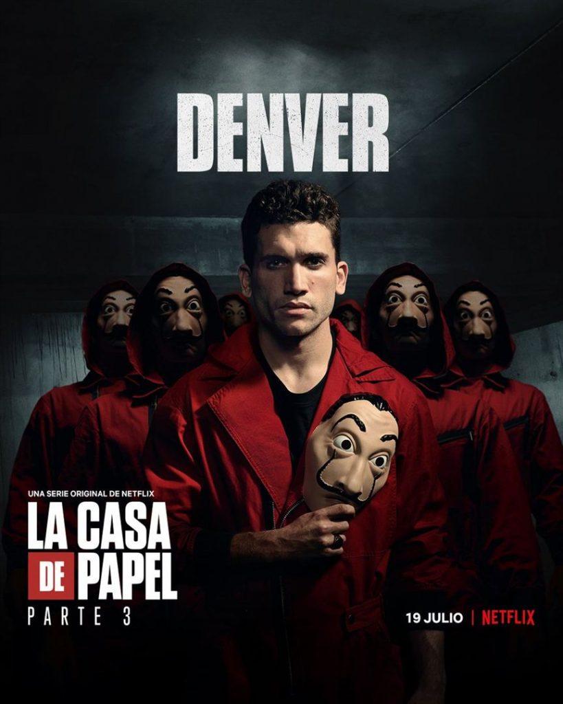 La Casa de Papel: Netflix revela cartazes individuais dos personagens 25