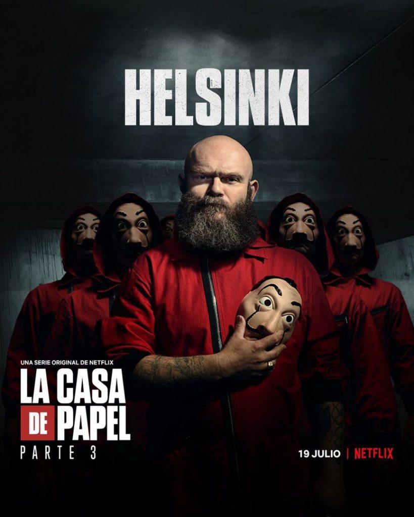 La Casa de Papel: Netflix revela cartazes individuais dos personagens 22