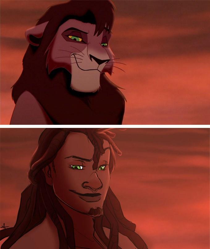 E se os animais da Disney fossem humanos? 21