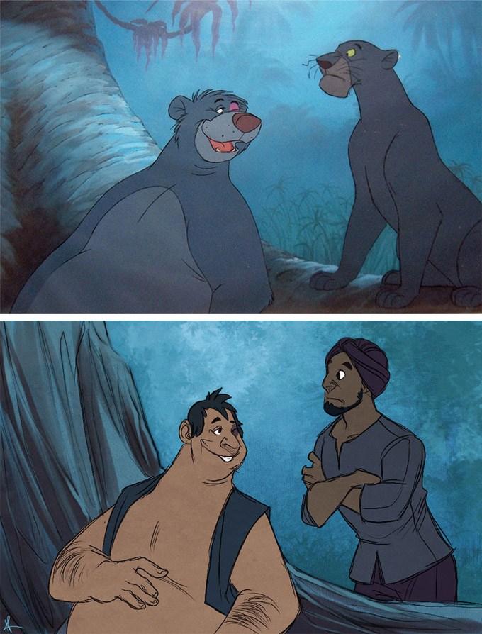 E se os animais da Disney fossem humanos? 20