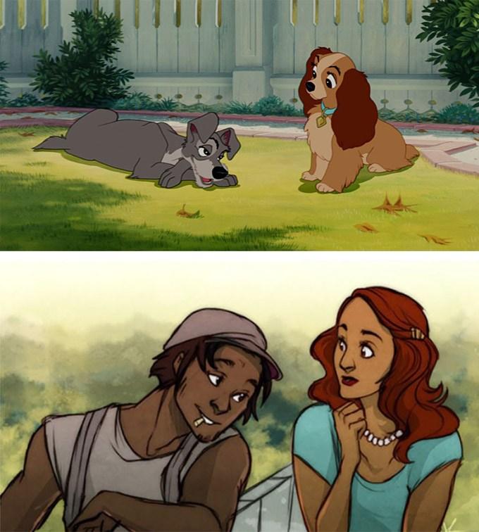 E se os animais da Disney fossem humanos? 22
