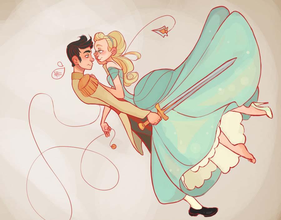 Princesas Disney guerreiras 20