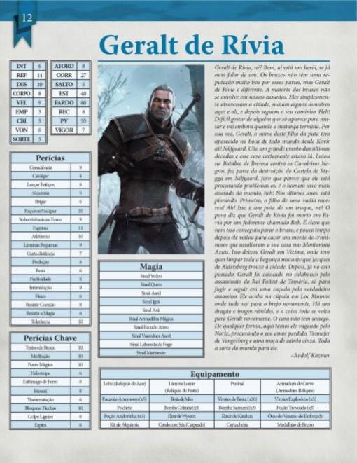 RPG de mesa baseado em The Witcher será lançado em janeiro no Brasil 18