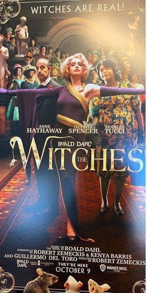'Convenção das Bruxas': Remake com Anne Hathaway ganha cartaz 17