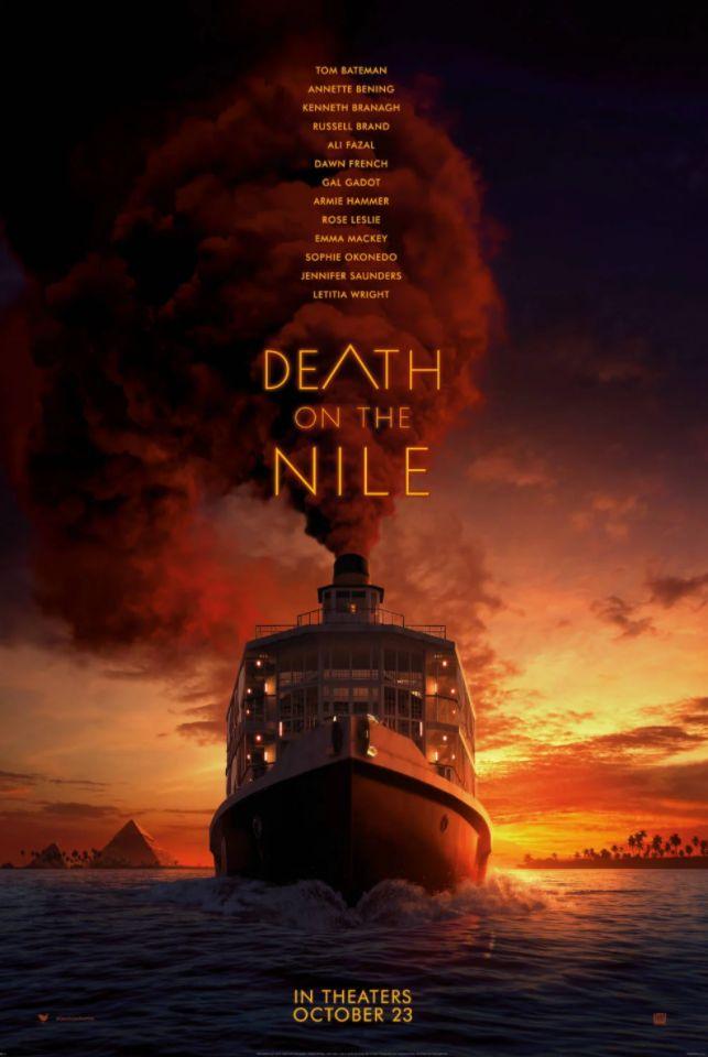 Morte no Nilo, adaptação da obra de Agatha Christie, ganha trailer 16