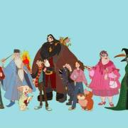 E se os personagens de Harry Potter fossem animações da Disney? 63