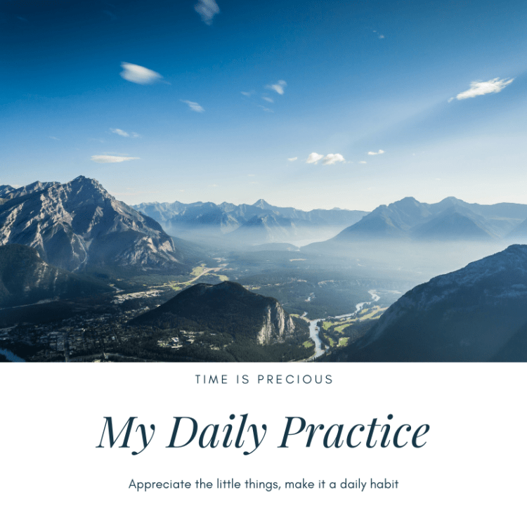 My Daily Practice Poster