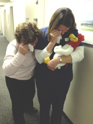 The murder of Foghorn at work by her administrators was the last straw