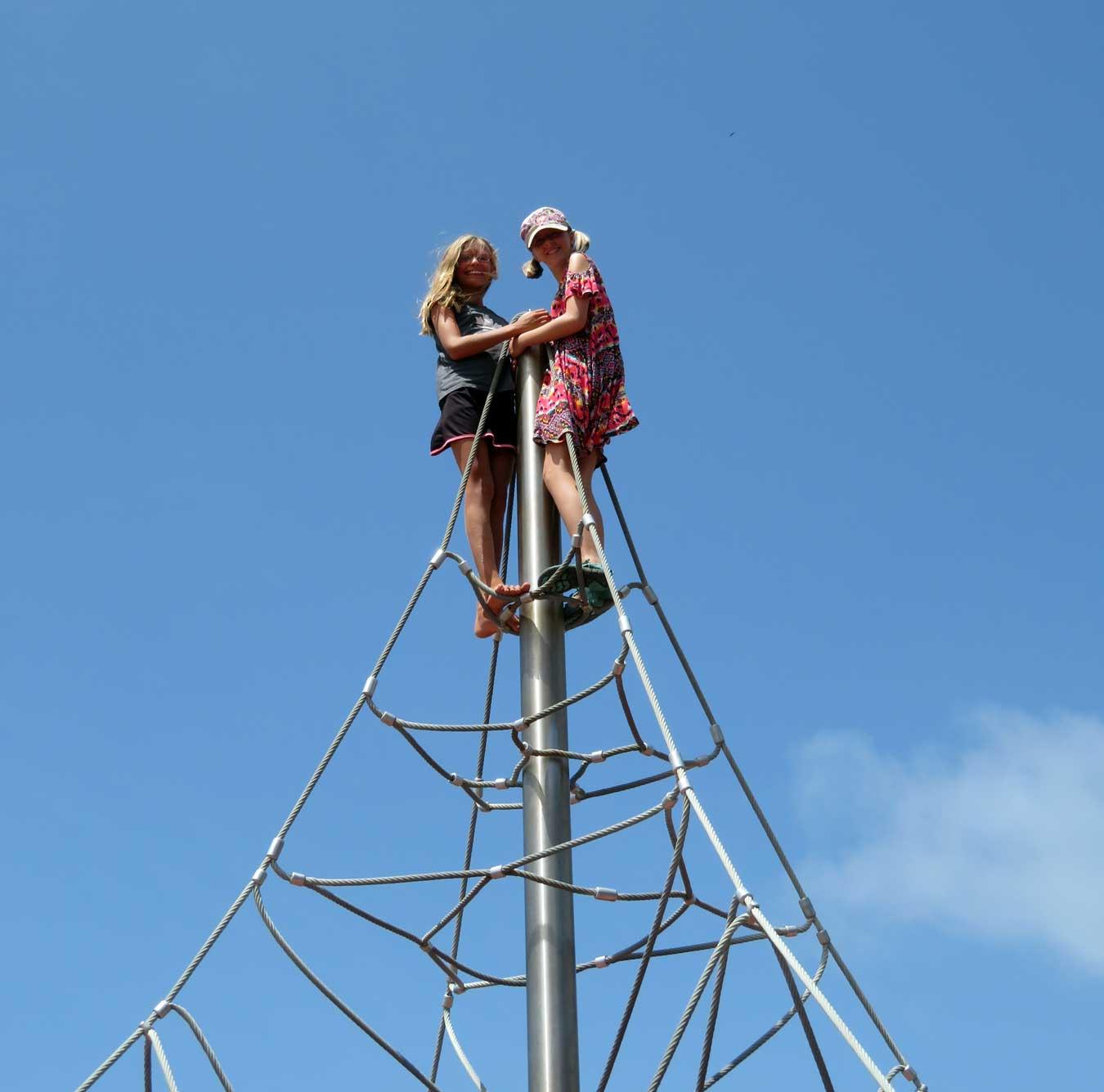 Even better than a mast!