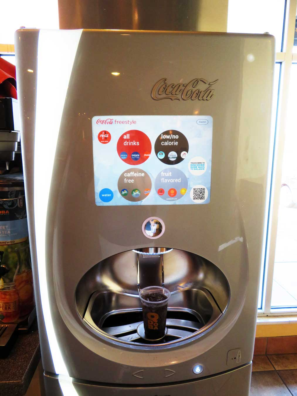 This TOUCHSCREEN American soda machine WILL TAKE OVER THE WORLD