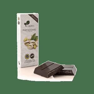 Cioccolata di Modica al Pistacchio