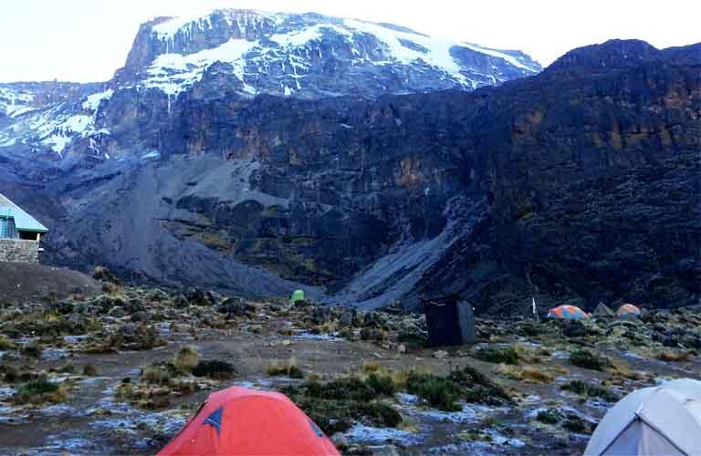 Machame Route: Brancco Camp