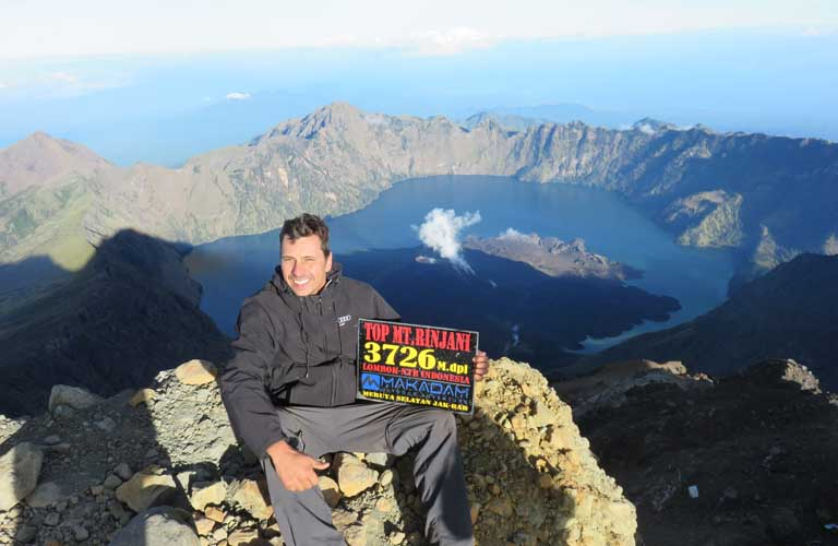 Mount Rinjani Trekking Indonesien