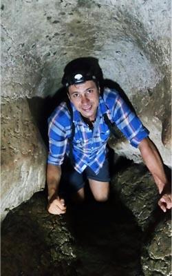 Radtour amboni caves tour-tansania