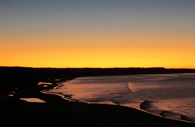 Fraser Island Orchid Beach Sunset