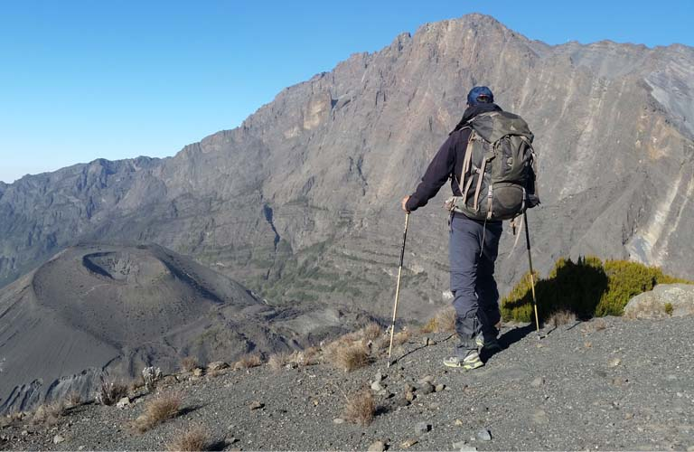 Trekking Mount Meru Rhino Point