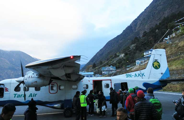 Three passes Trek Lukla Airport