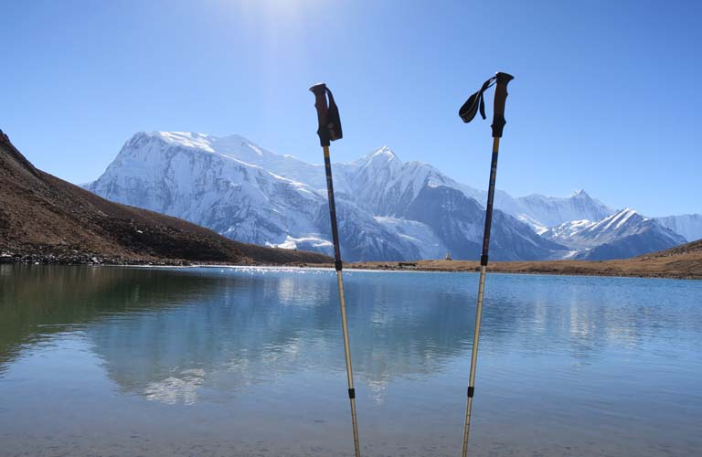 ice lake nepal annapurna round