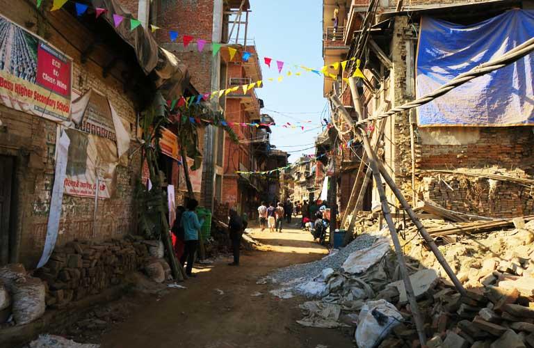 Erdbeben Bhaktapur Kathmandu Sehenswürdigkeiten