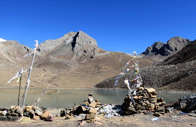 Ice Lake Annapurna Trekking Nepal Reisebericht
