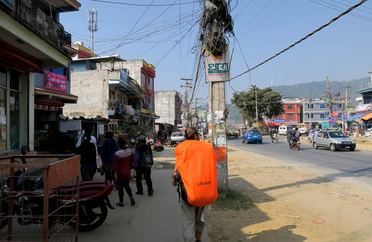 Wandern Annapurna Circuit Trek Nepal Pokhara Lake Side