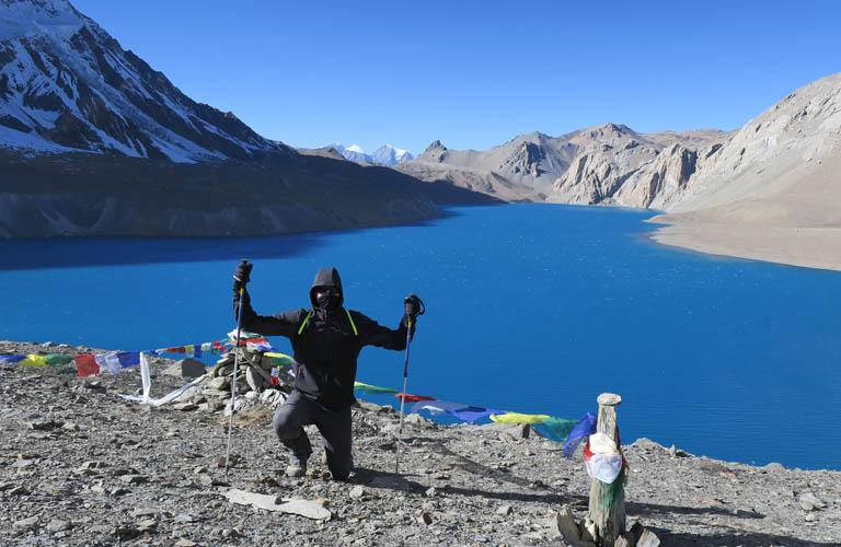 Annapurna Circuit Trek Nepal Tilicho lake