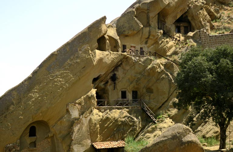 David Gareja Caves Udabno Georgien Dawit Garedscha Tagesausflug Tiflis