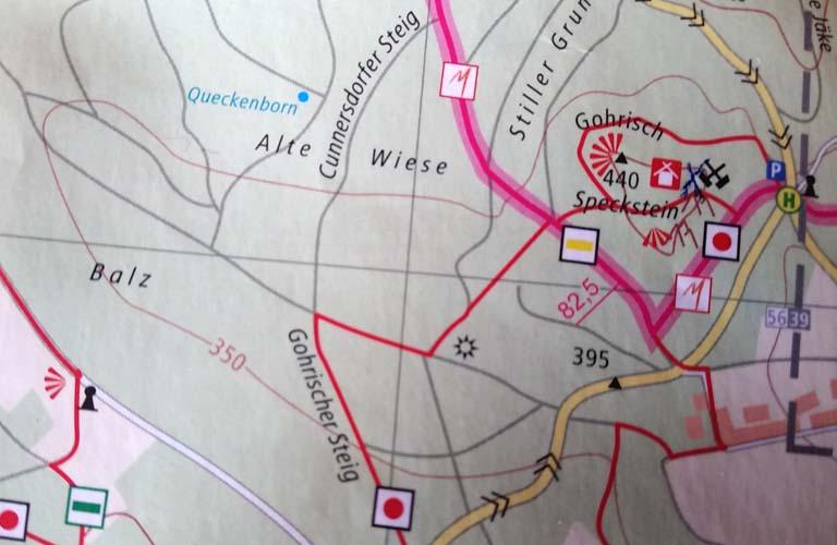 Gohrischstein Malerweg Zelten Sächsische Schweiz Trekking Deutschland