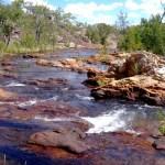 Biddlecomb Kaskaden Jatbula Trail Australien Trekking Outback