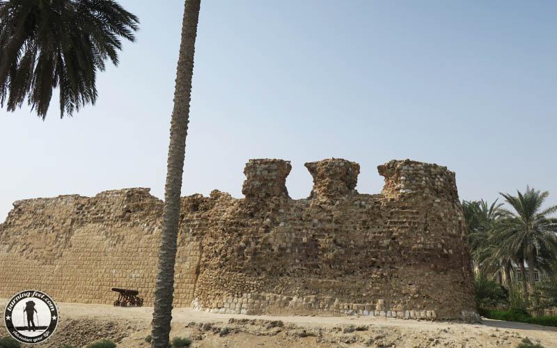 Portuguese Castle Queshm Island Iran Geopark Qeschm Sehenswürdigkeit Portugiesisches Fort Qeshm Iran