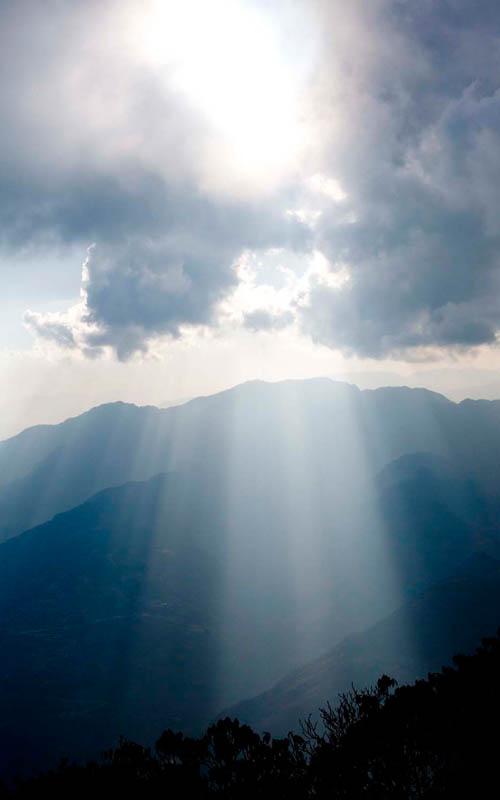 Sonnenaufgang Mardi Himal Trek Nepal Trekking Annapurna Conservation Area