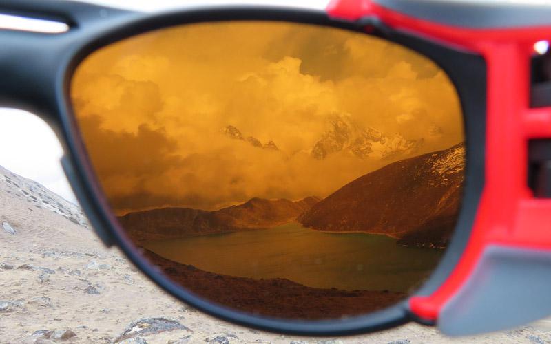 Gokyo Lake Nepal Gletscherbrille Julbo Explorer 2
