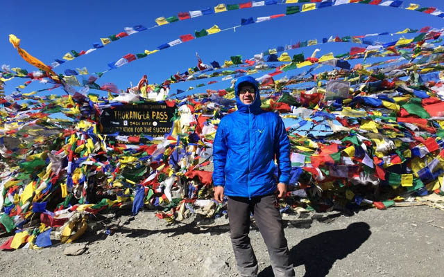 Thorong La Pass Thorung La Pass Annapurna Circuit