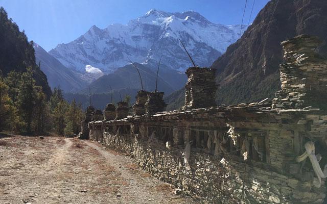 Wandern Manang Valley Annapurna Circuit