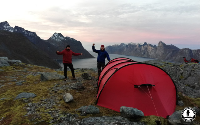 Zelten Lofoten Reisebericht