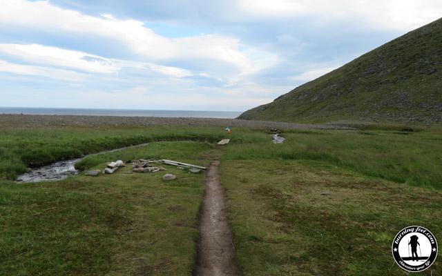 Zelten Nordkap