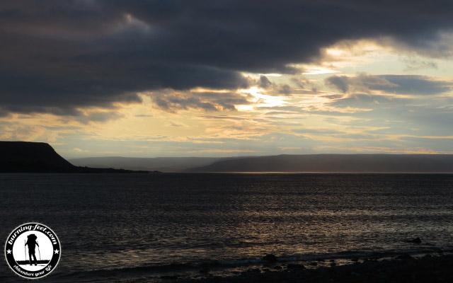 sunset Hamningberg