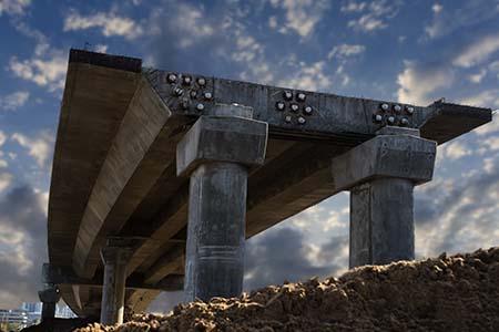 Infrastructure, bridge, overpass