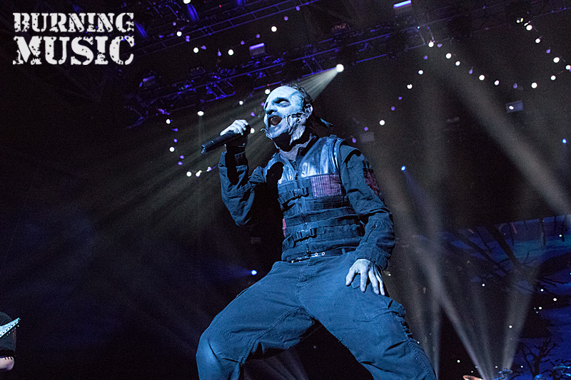 Konzertfotos Slipknot Live In Der Olympiahalle München Burning Music