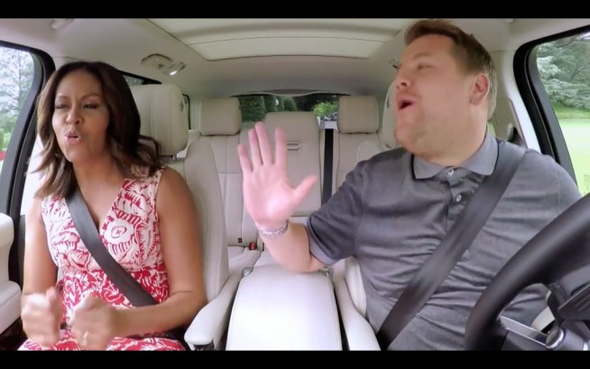 Michelle Obama James Corden Carpool Karaoke