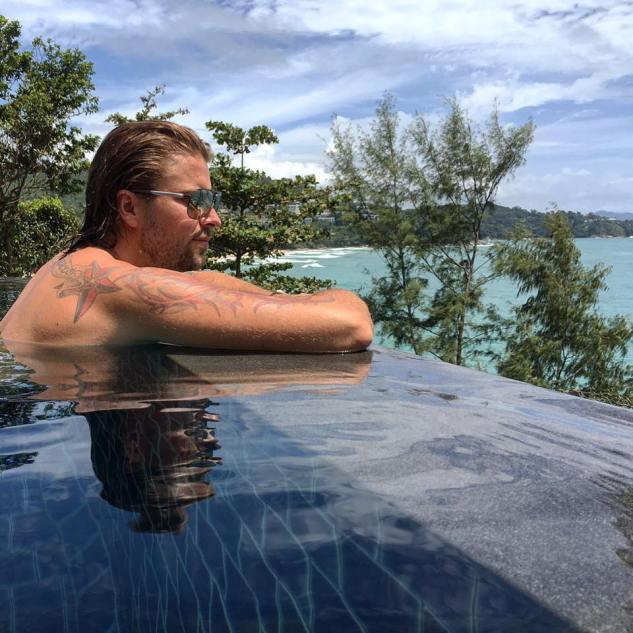 Felix von Jascheroff in Phuket Thailand Hotel Pullman Phuket Arcadia Naithon Beach